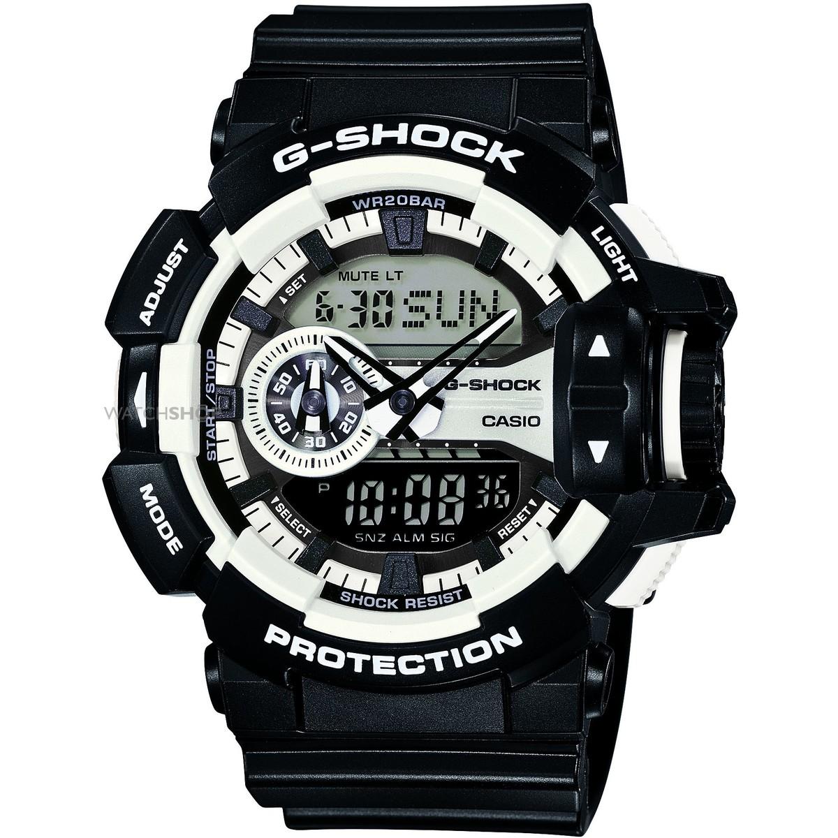 Ceas barbatesc Casio G-Shock GA-400-1AER original de mana