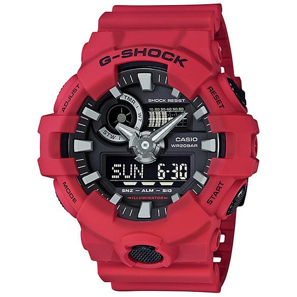 Ceas barbatesc Casio G-Shock GA-700-4AER original de mana