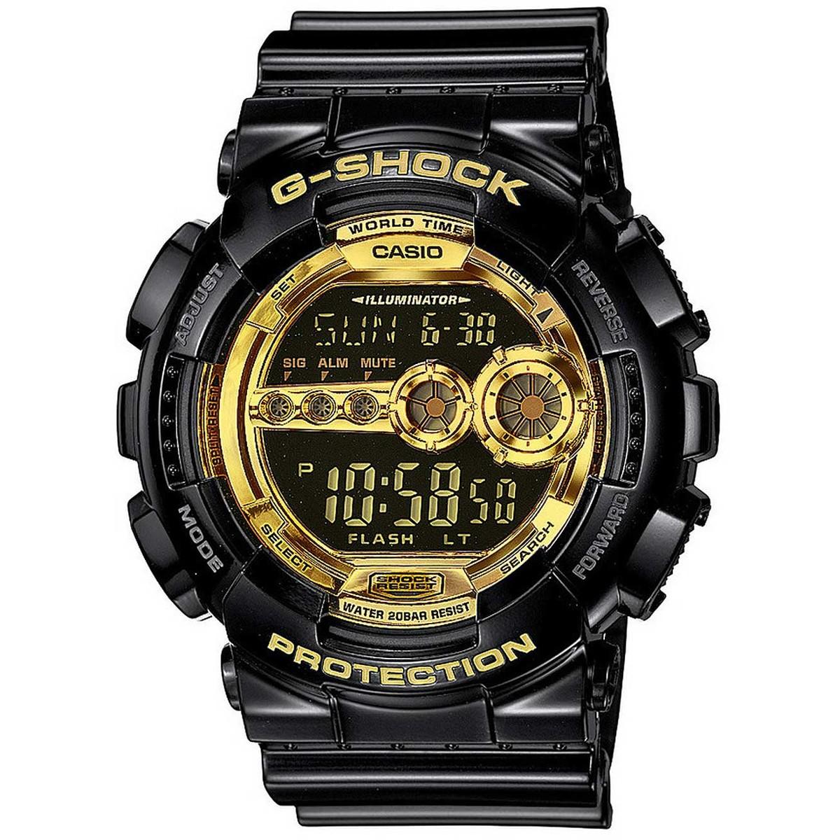 Ceas barbatesc Casio G-Shock GD-100GB-1ER original de mana
