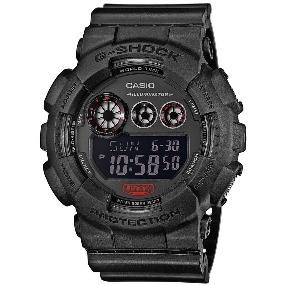 Ceas barbatesc Casio G-Shock GD-120MB-1ER original de mana