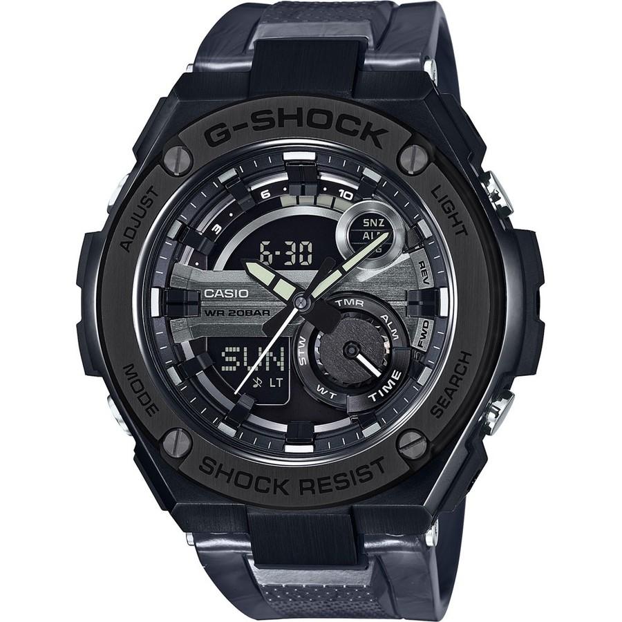 Ceas barbatesc Casio G-Shock GST-210M-1AER original de mana