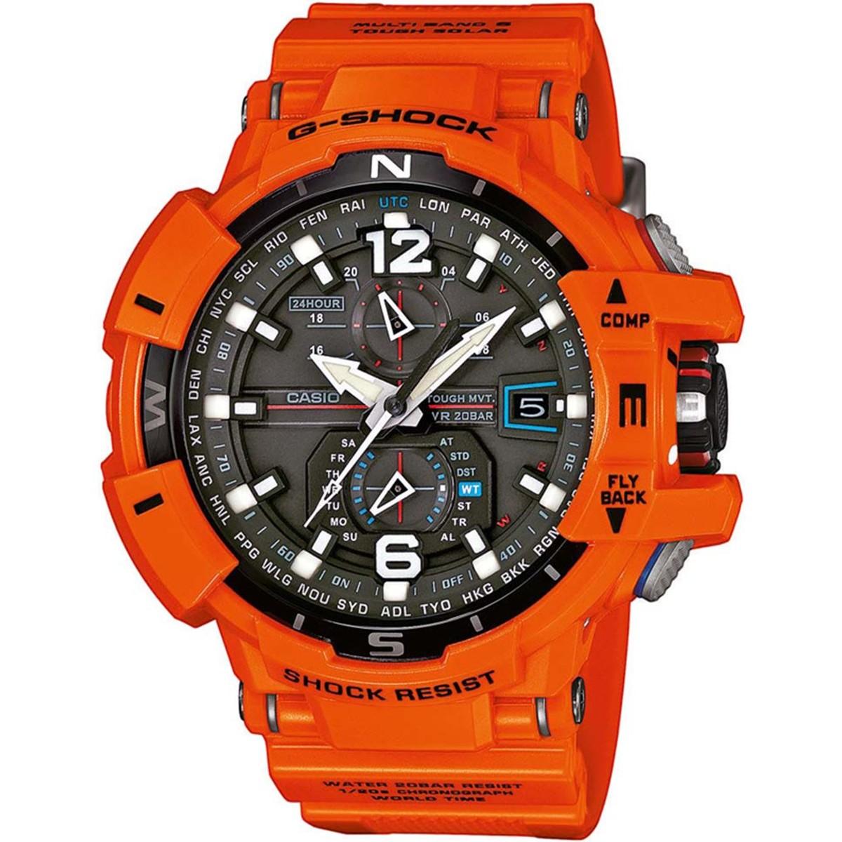Ceas barbatesc Casio G-Shock GW-A1100R-4AER original de mana