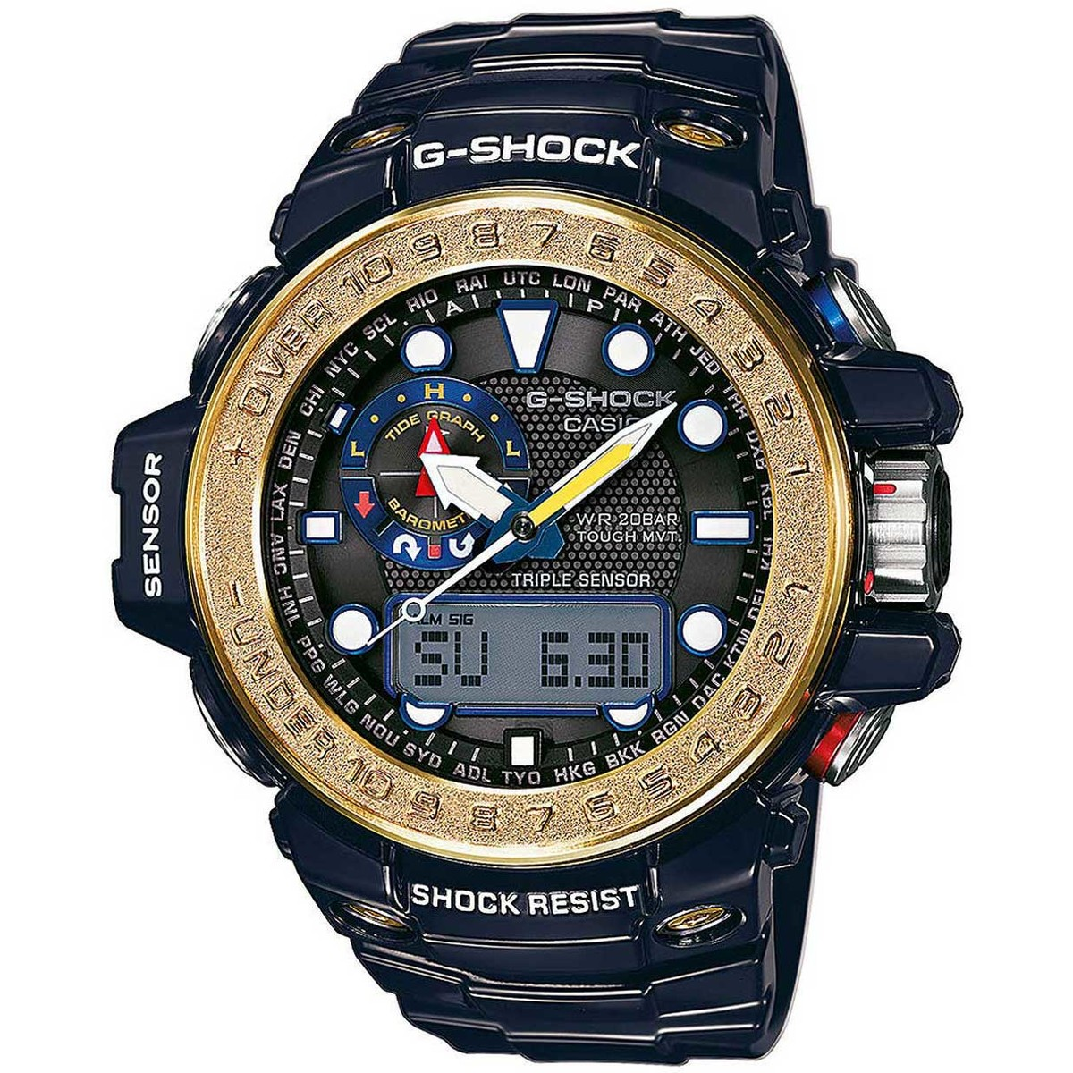 Ceas barbatesc Casio G-Shock GWN-1000F-2AER original de mana