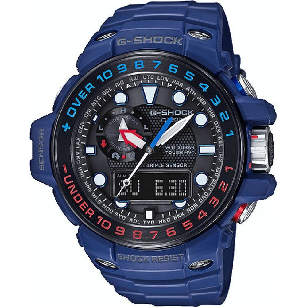 Ceas barbatesc Casio G-Shock GWN-1000H-2AER original de mana