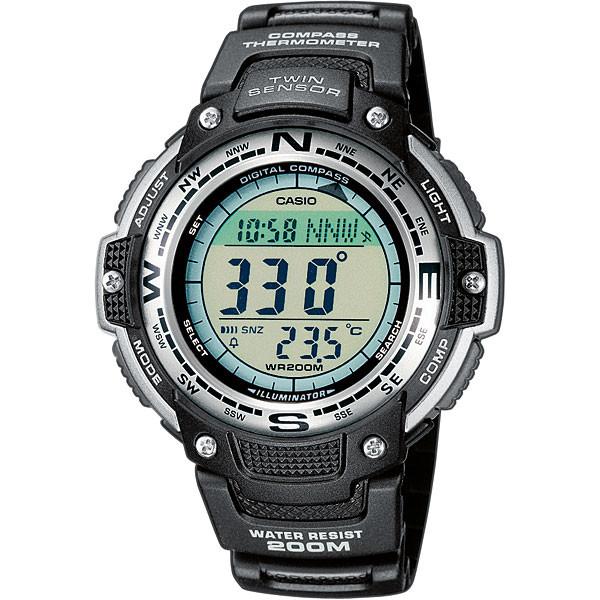 Ceas barbatesc Casio Multi Task Gear SGW-100-1VEF original de mana