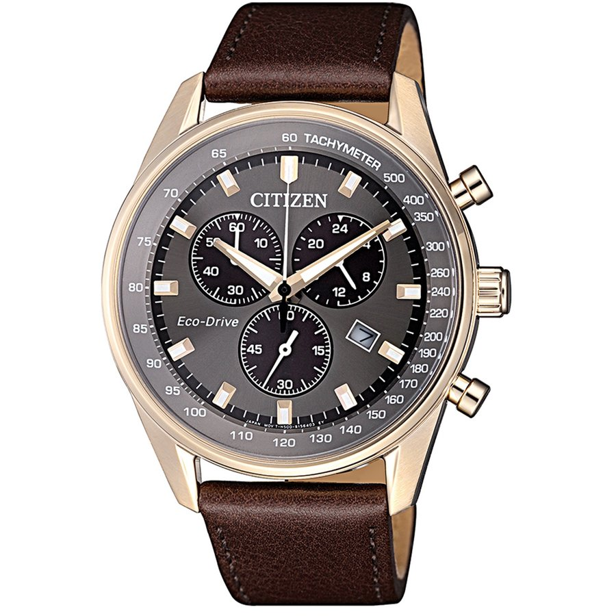 Ceas barbatesc Citizen Eco-Drive AT2393-17H original de mana