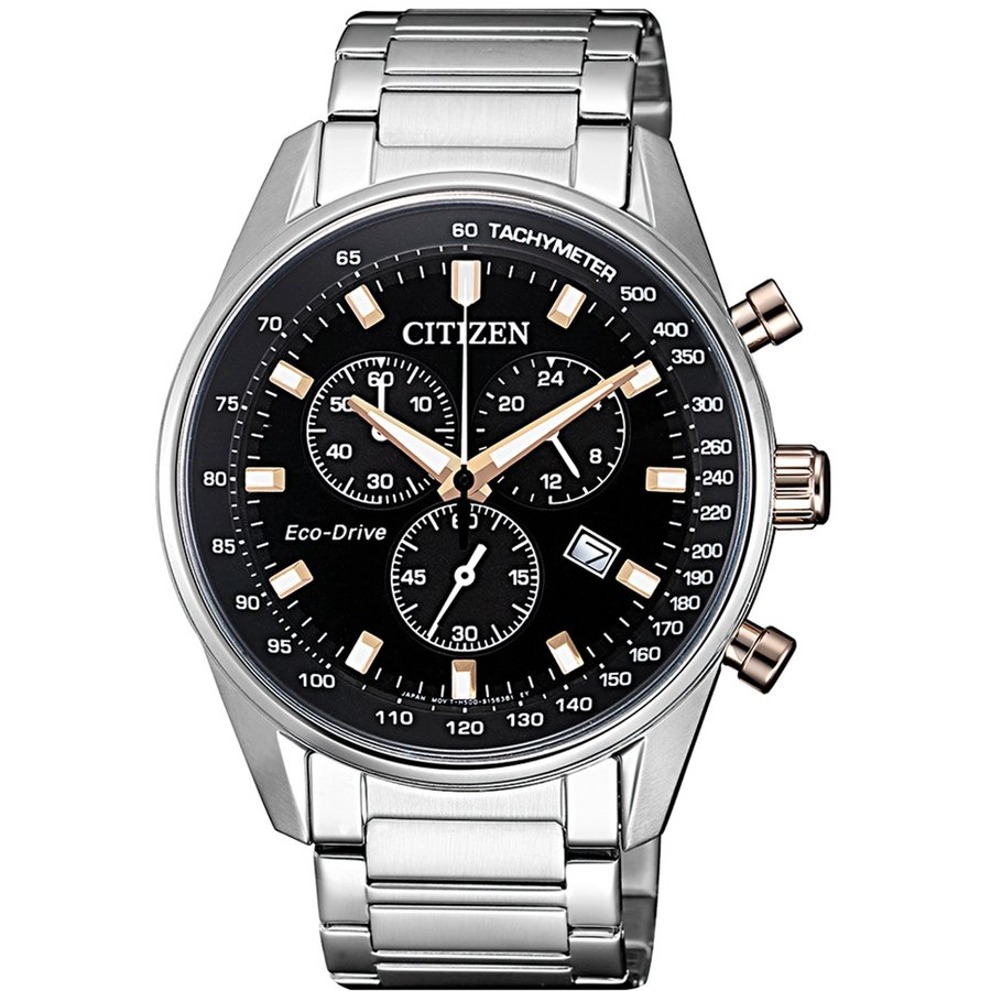 Ceas barbatesc Citizen Eco-Drive AT2396-86E de mana original