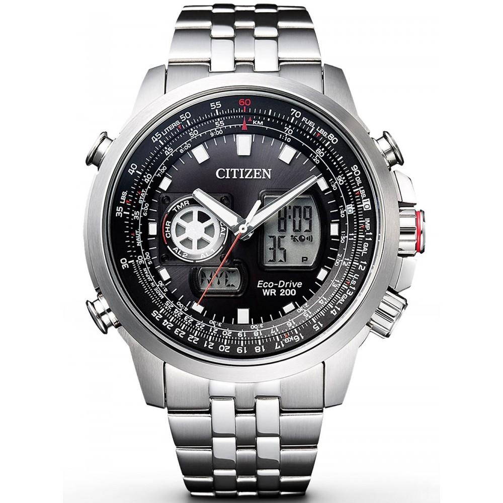Ceas barbatesc Citizen Eco-Drive Promaster Sky JZ1060-50E original de mana