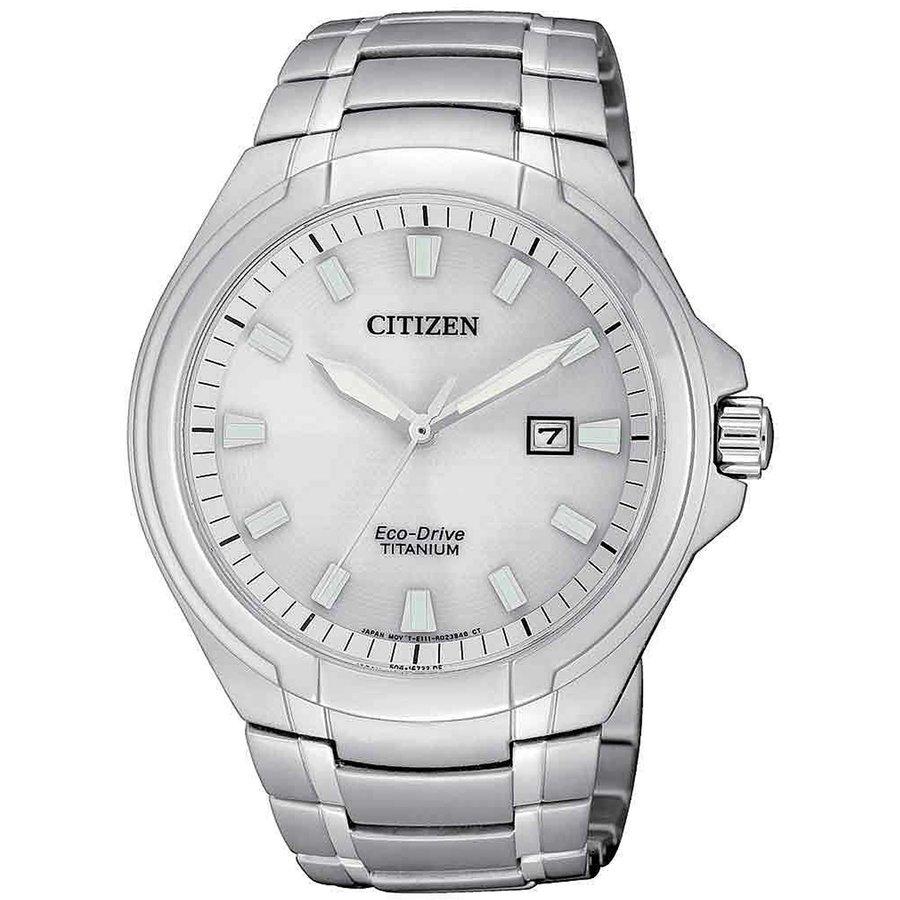 Ceas barbatesc Citizen Eco-Drive Super-Titanium BM7430-89A de mana original