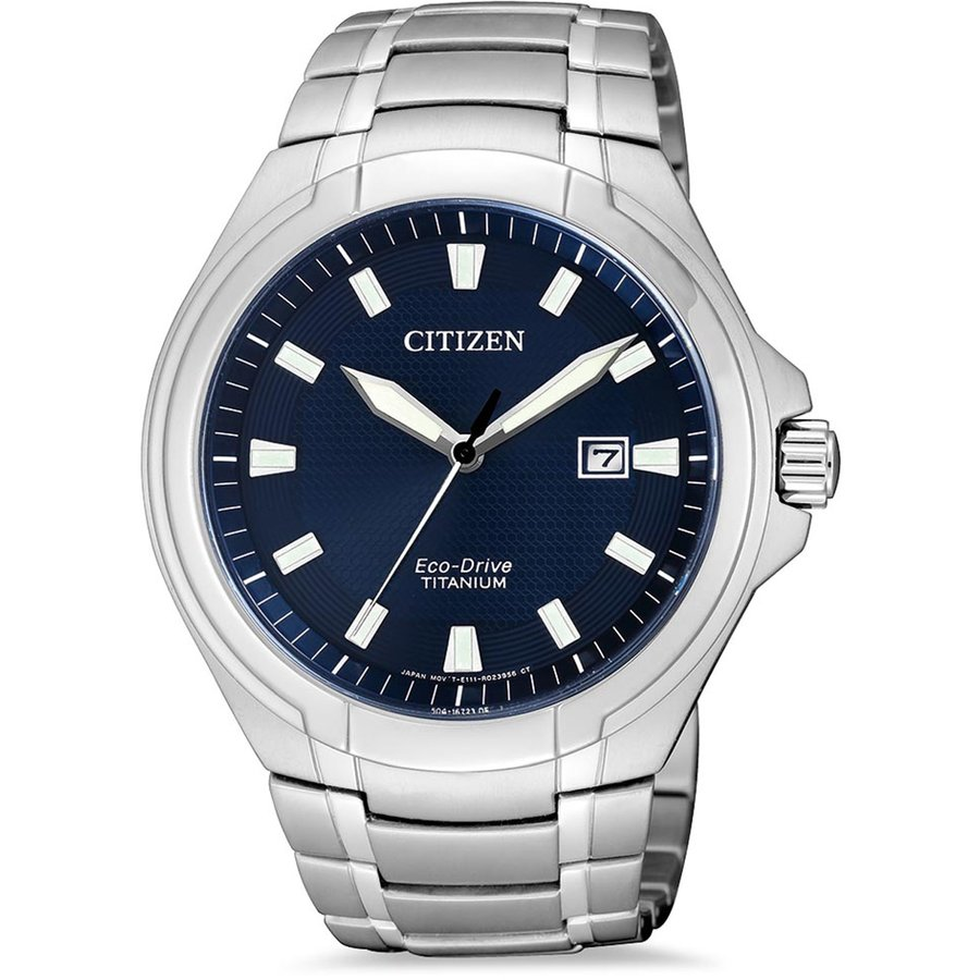 Ceas barbatesc Citizen Eco-Drive Super-Titanium BM7430-89L de mana original