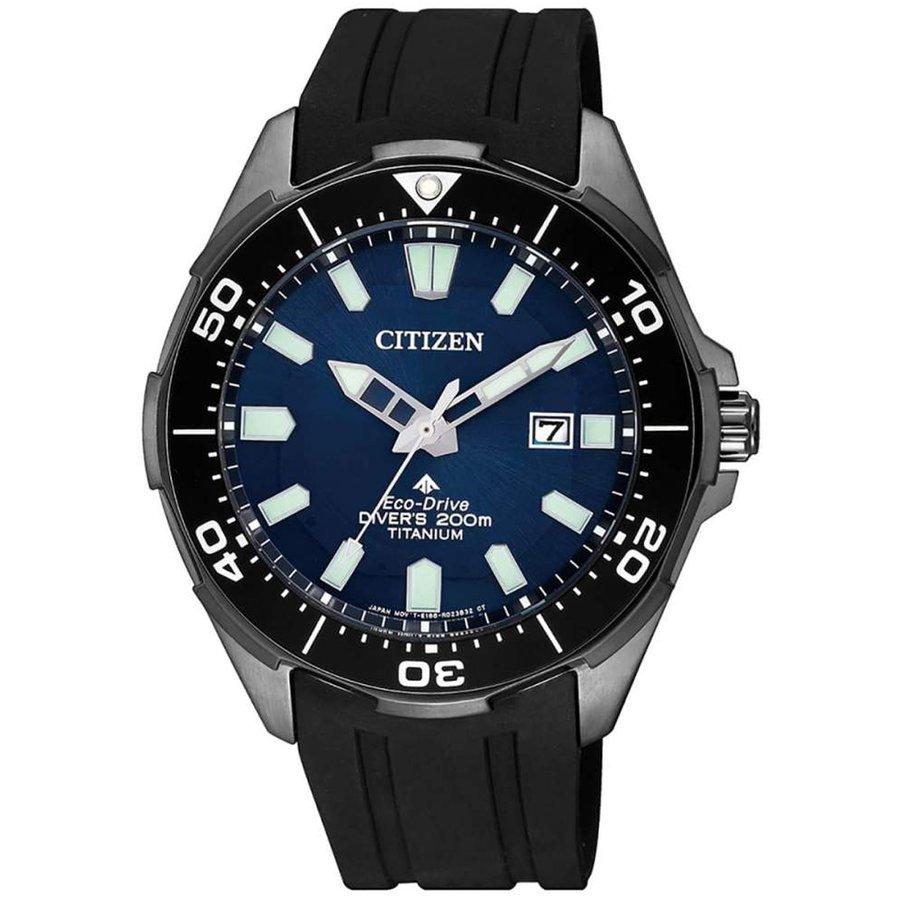 Ceas barbatesc Citizen Eco-Drive Super-Titanium BN0205-10L de mana original