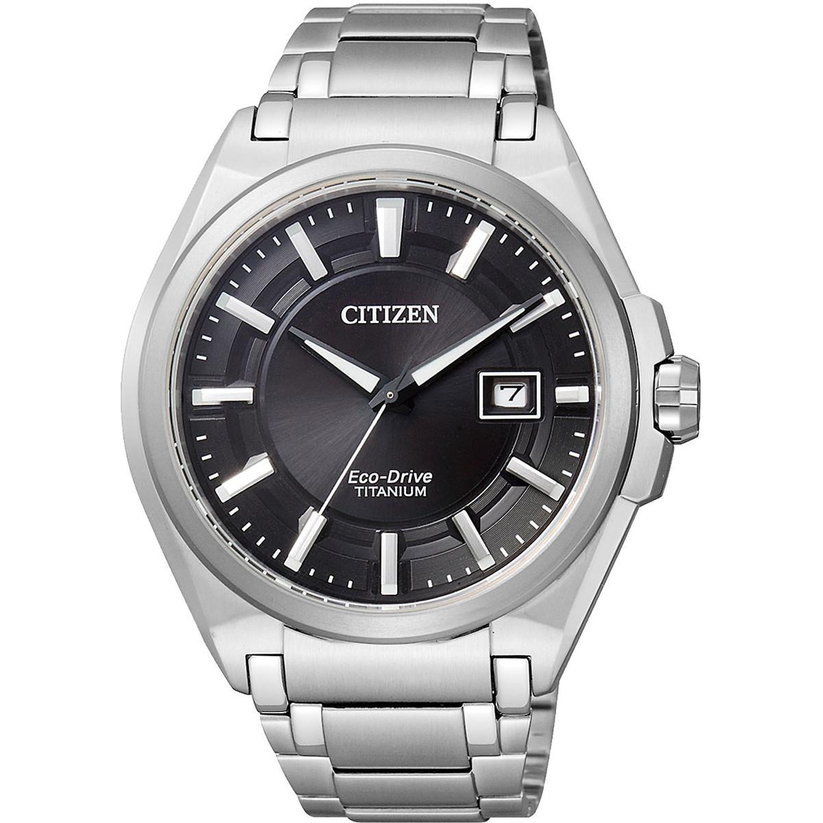 Ceas barbatesc Citizen Eco-Drive Titanium BM6930-57E original de mana