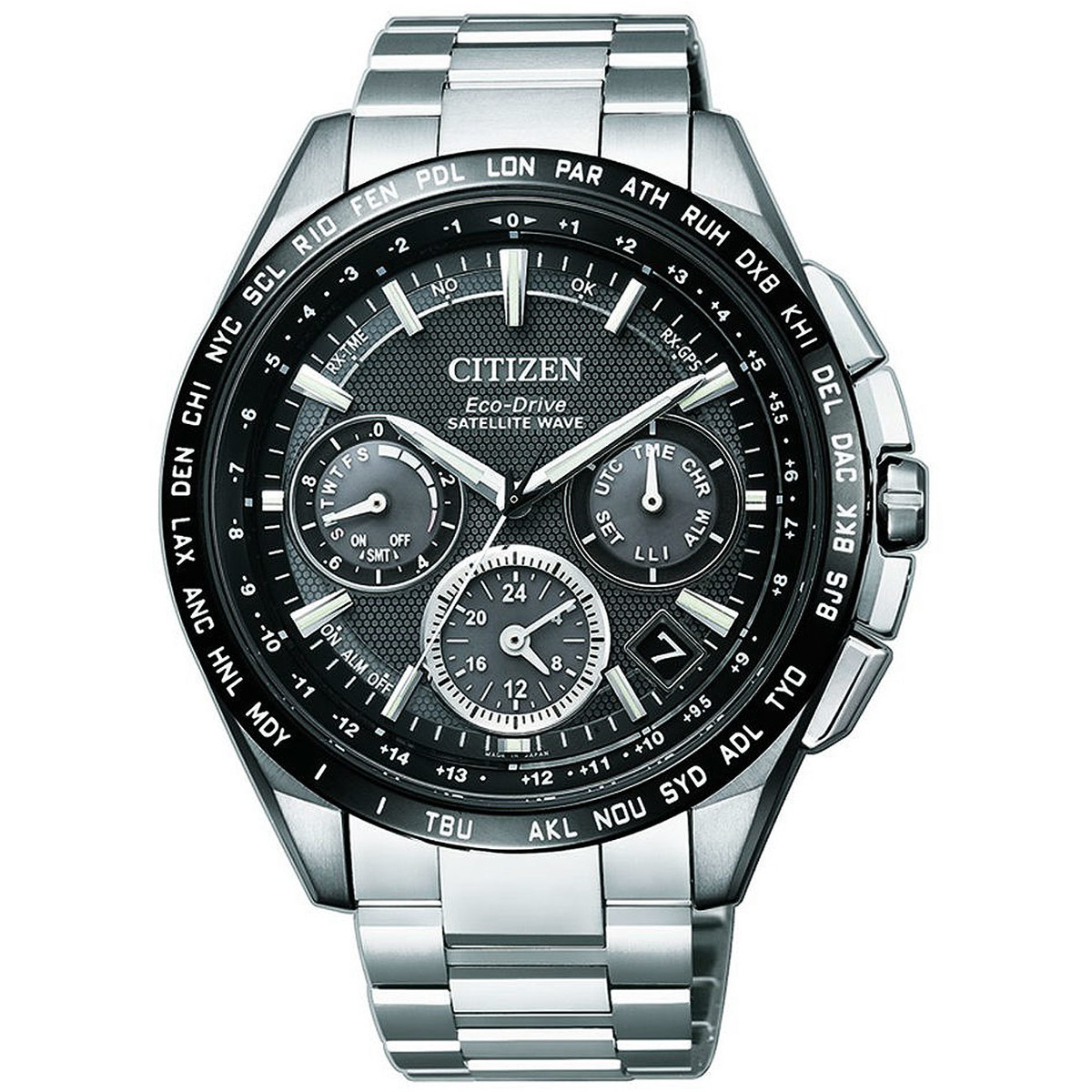 Ceas barbatesc Citizen Satellite Wave CC9015-54E original de mana
