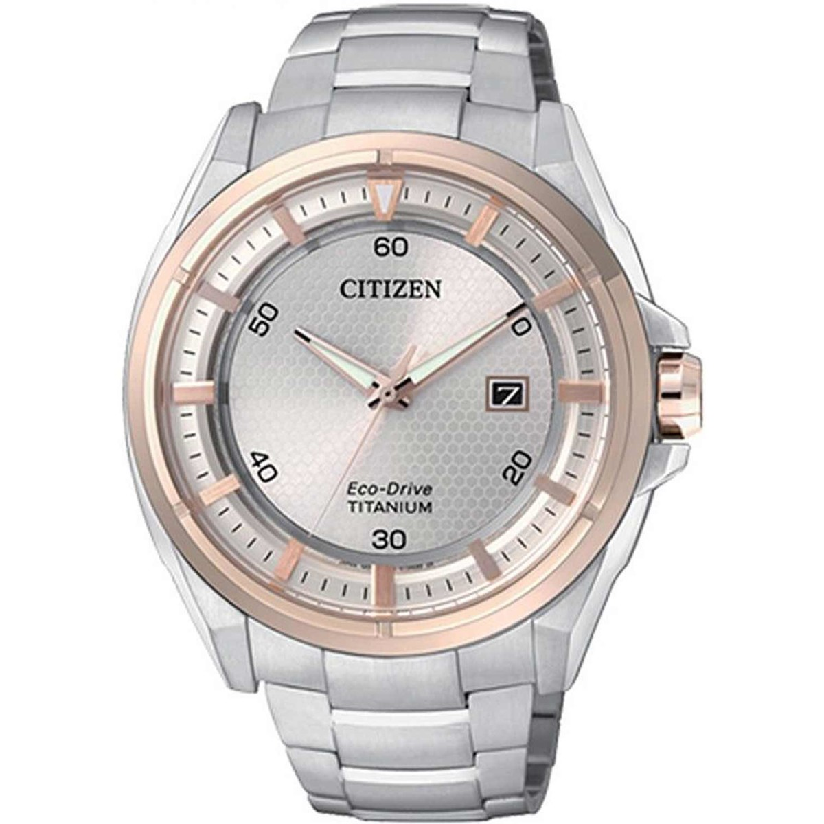 Ceas barbatesc Citizen Titanium AW1404-51A original de mana