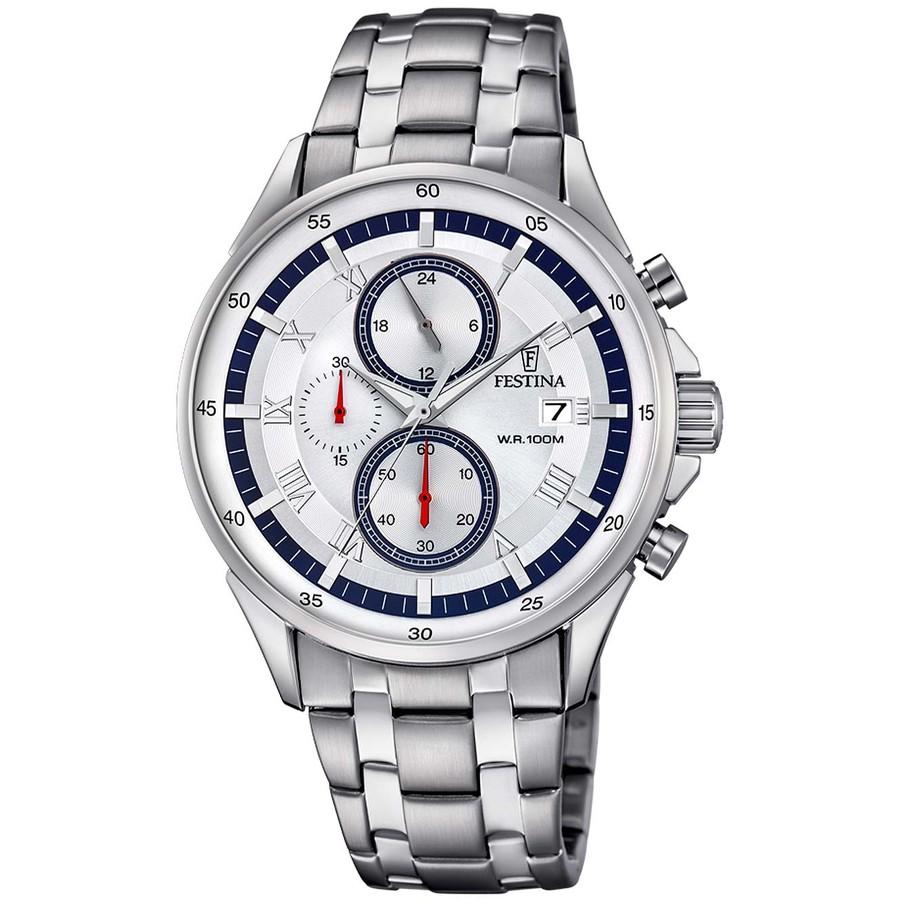 Ceas barbatesc Festina Sport Cronograph F6853/1 original de mana