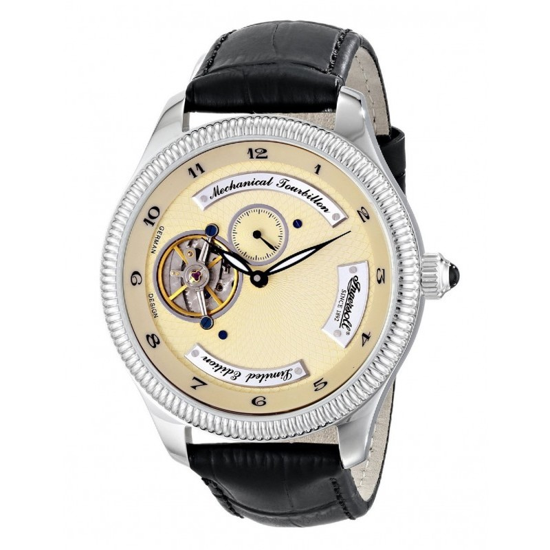 Ceas barbatesc Ingersoll Tourbillon West Point IN5201CH de mana original