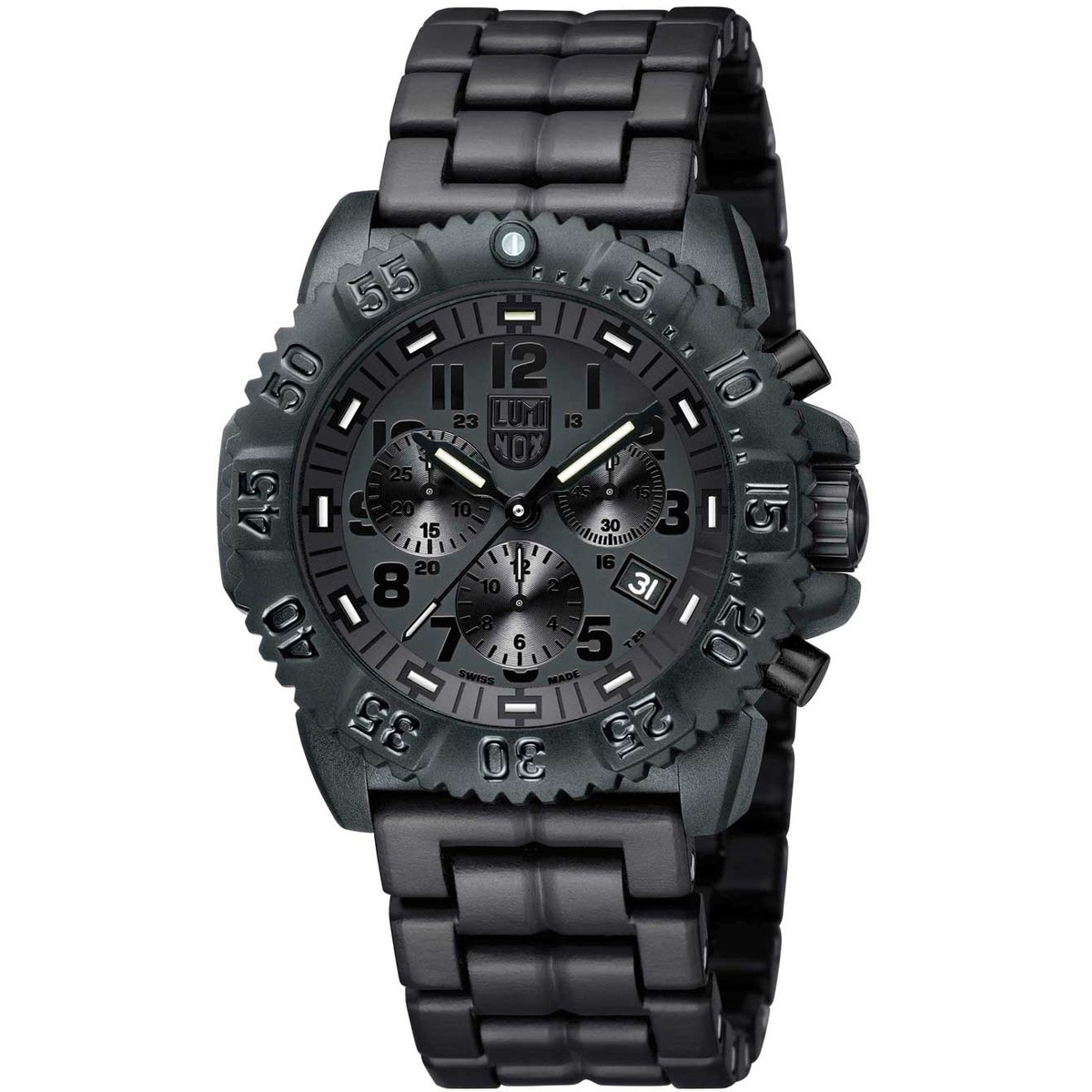Ceas barbatesc Luminox A.3082.BO Colormark de mana original