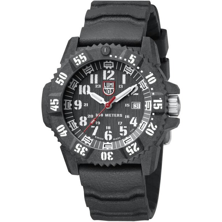 Ceas barbatesc Luminox Carbon Seal 3800 XS.3801 de mana original