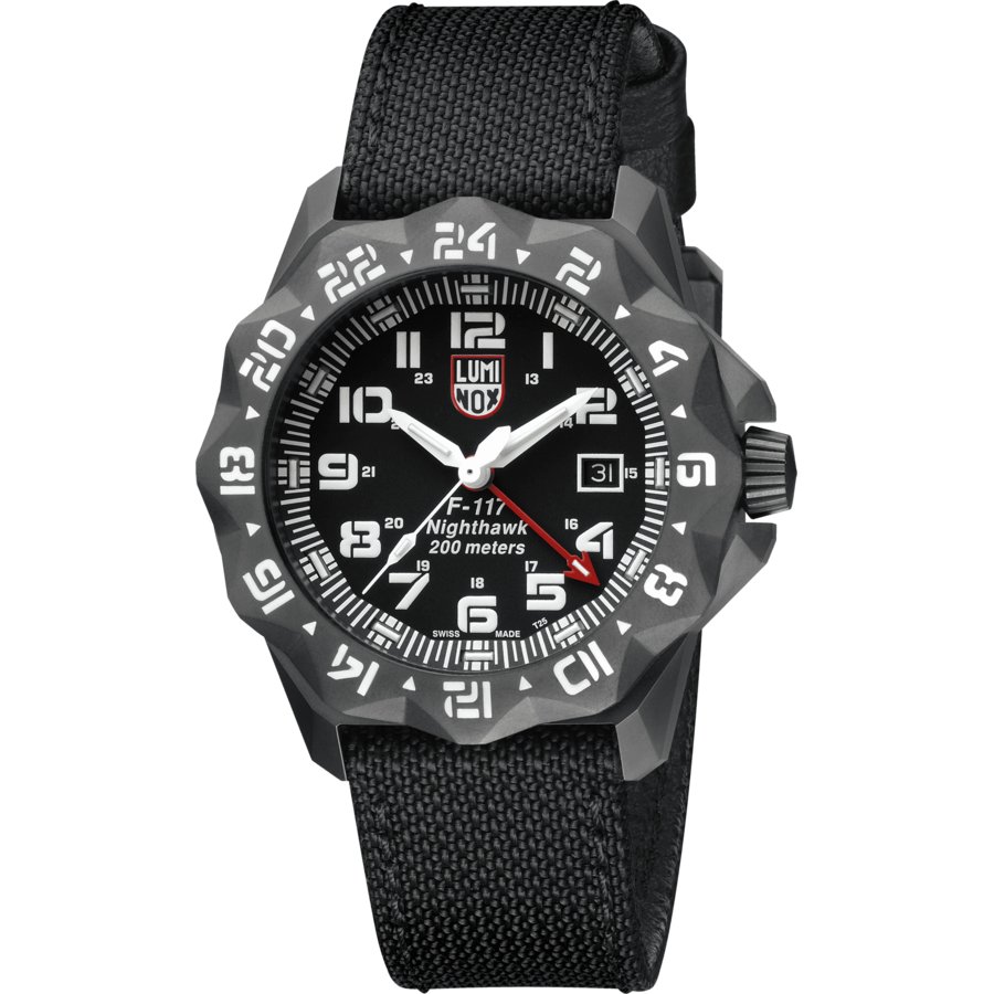 Ceas barbatesc Luminox Nighthawk 6400 XA.6421 de mana original