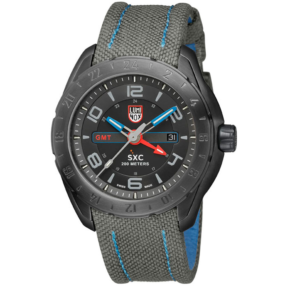 Ceas barbatesc Luminox SXC PC STEEL de mana original