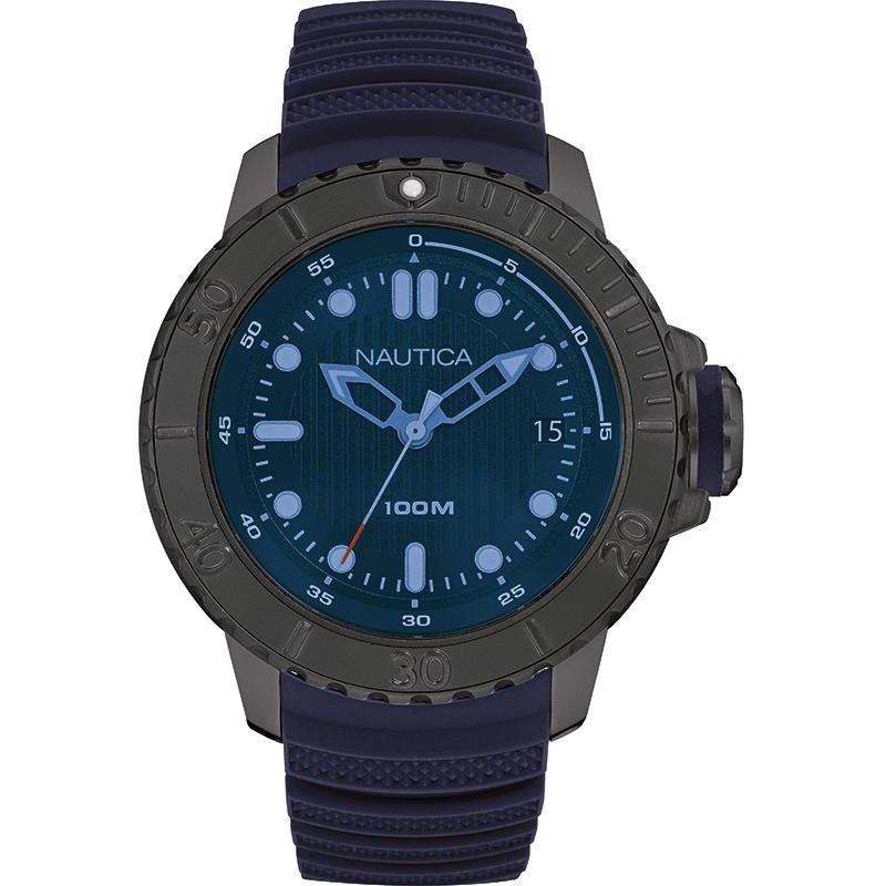Ceas barbatesc Nautica 3 Hands NAD20509G de mana original
