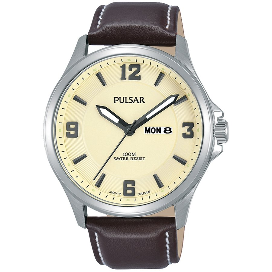 Ceas barbatesc Pulsar PJ6085X1 de mana original