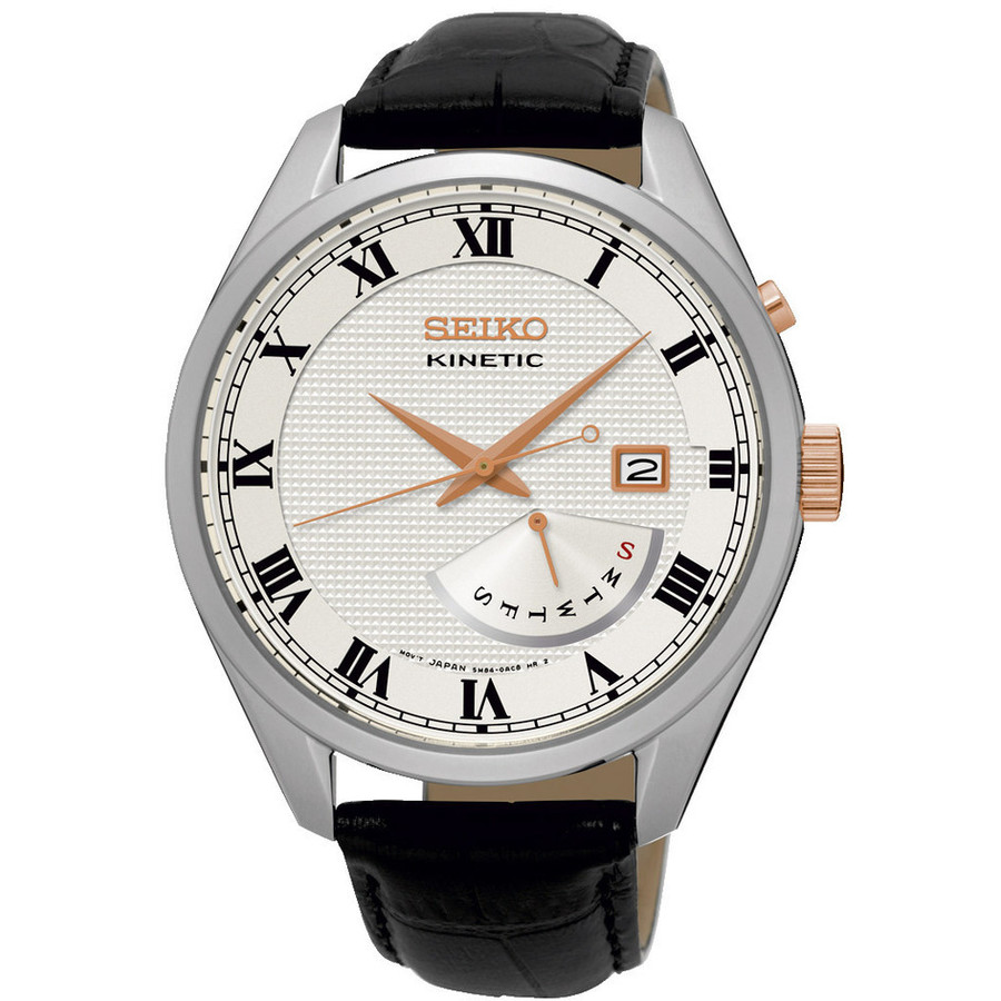 Ceas barbatesc Seiko Kinetic SRN073P1 de mana original