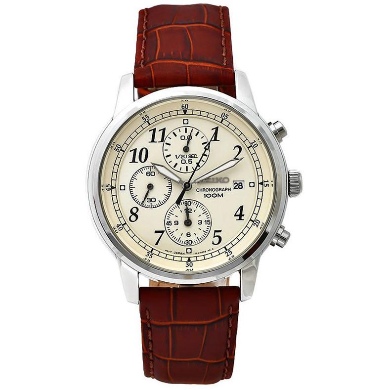 Ceas barbatesc Seiko SNDC31P1 Cronograf de mana original