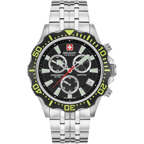 Ceas barbatesc SwissMilitaryHanowa Patrol 06-5305.04.007.06 de mana original