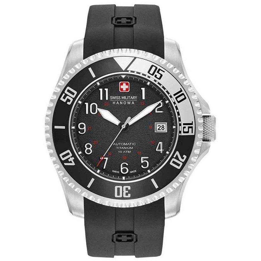 Ceas barbatesc SwissMilitaryHanowa Triton Automatic 05-4284.15.007 original la pret mic