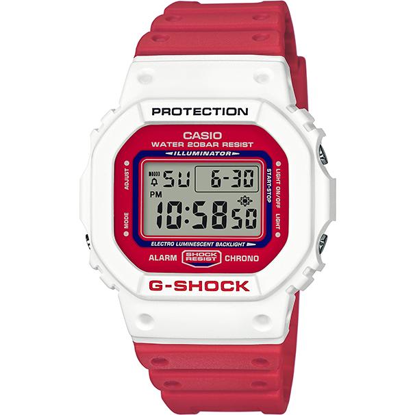 Ceas dama Casio G-Shock DW-5600TB-4AER original de mana