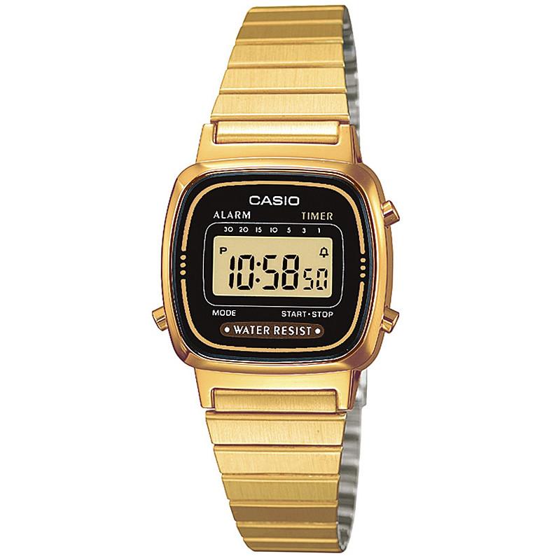 Ceas dama Casio LA670WEGA-1EF original de mana