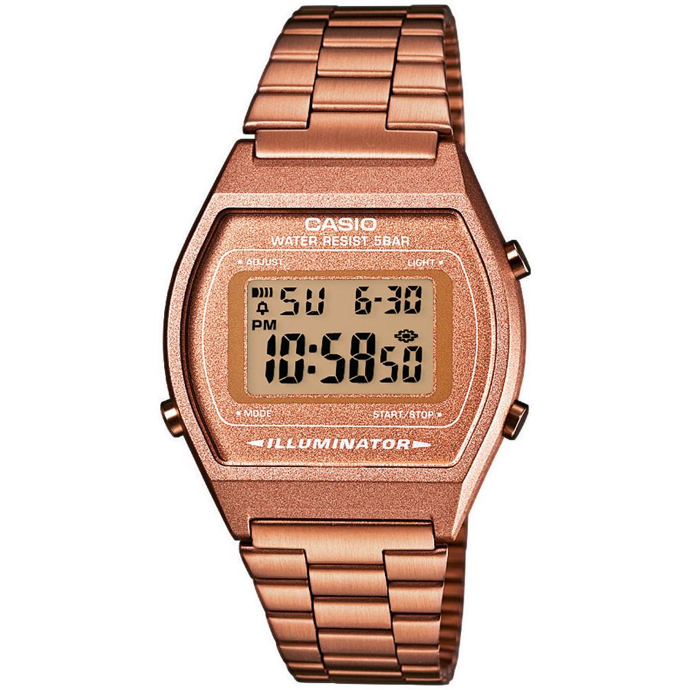 Ceas dama Casio Retro B640WC-5AEF original de mana
