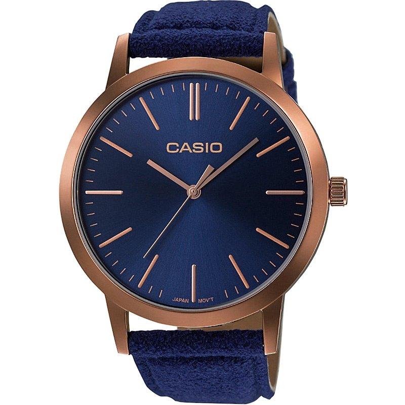 Ceas dama Casio Retro LTP-E118RL-2AEF original de mana