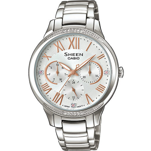Ceas dama Casio Sheen SHE-3058D-7AUER original de mana