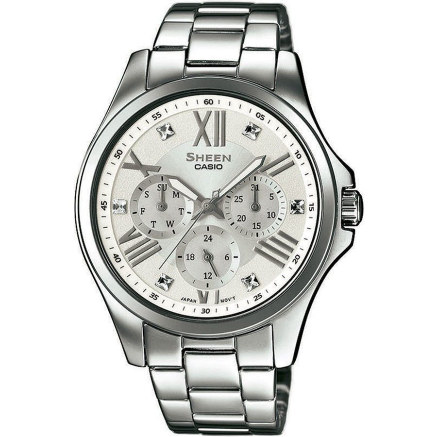 Ceas dama Casio Sheen SHE-3806D-7AUER original de mana