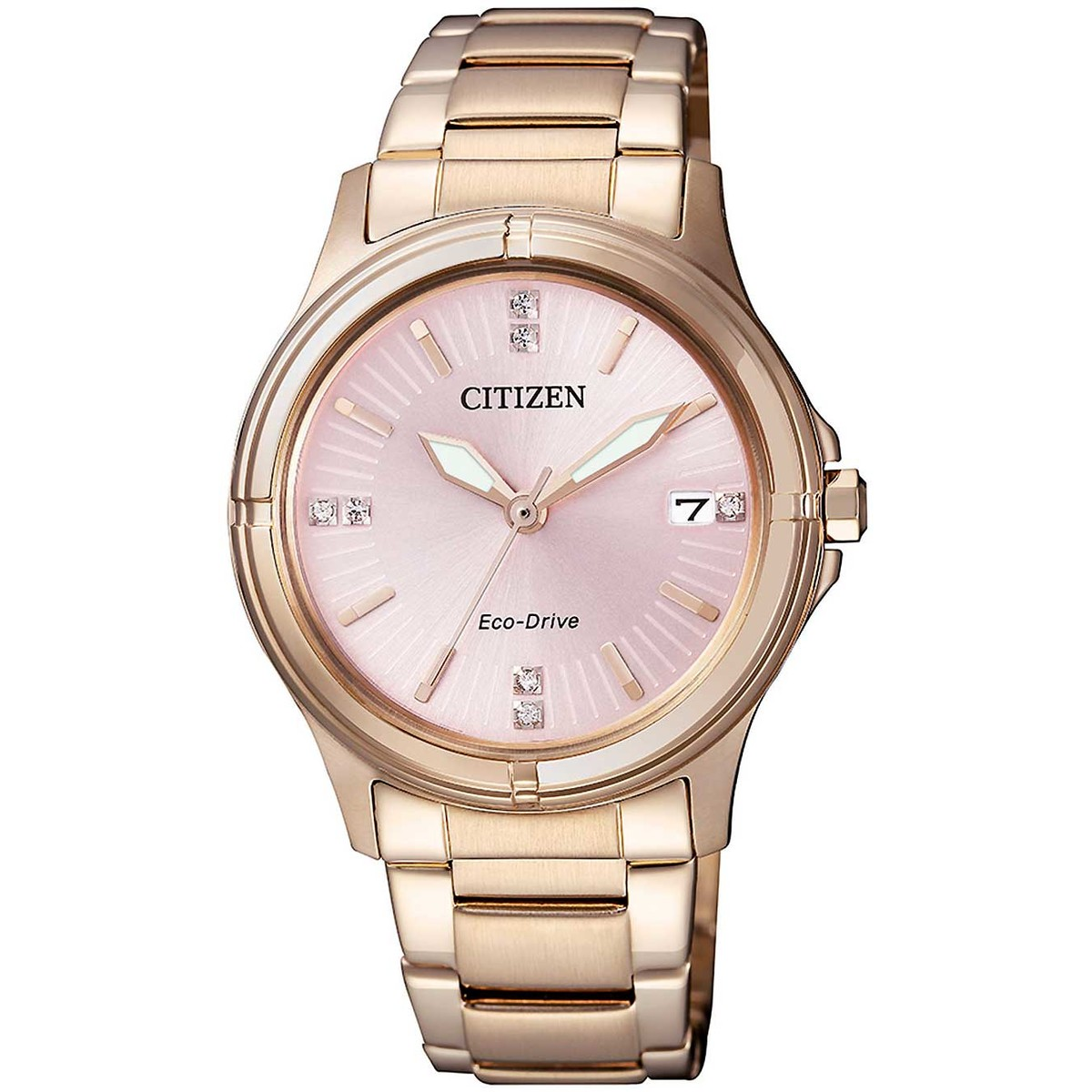 Ceas dama Citizen Eco-Drive FE6053-57W Elegant original de mana