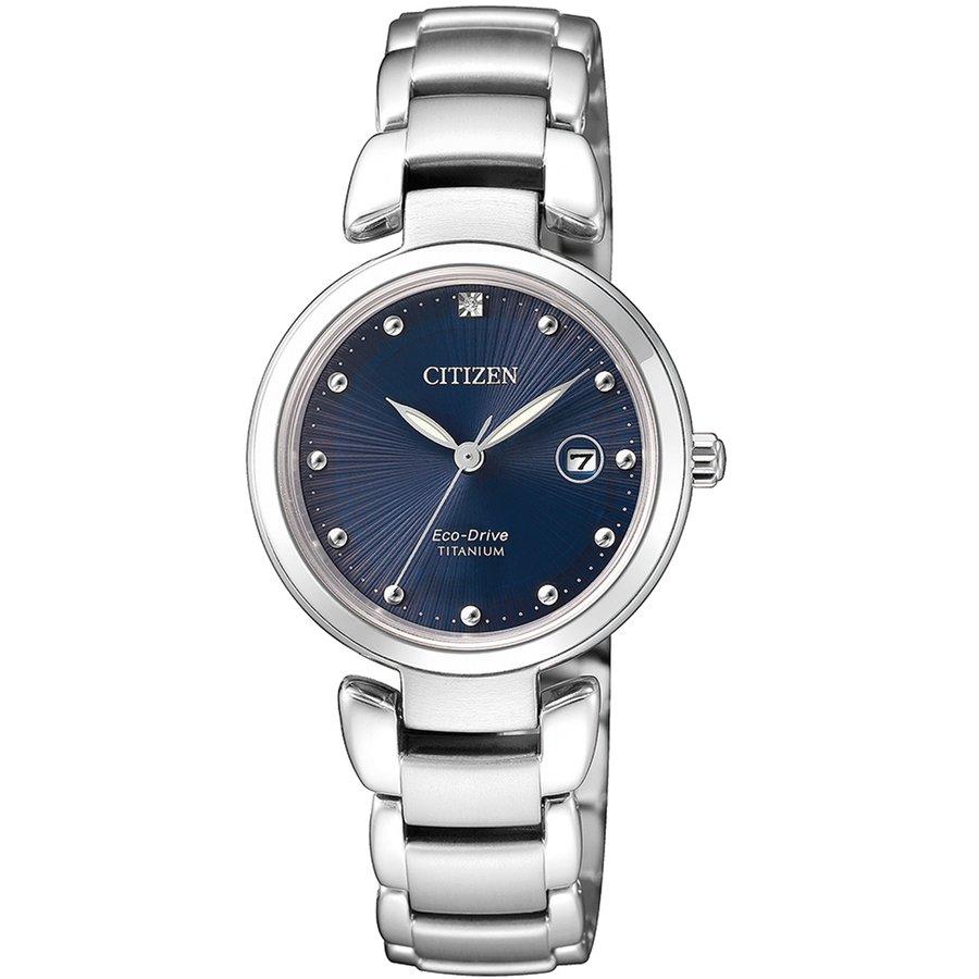 Ceas dama Citizen Titanium EW2500-88L original de mana