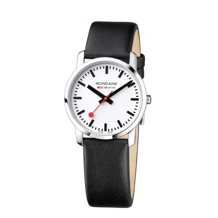 Ceas dama Mondaine Simply Elegant A400.30351.11SBB original de mana
