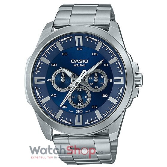 Ceas Casio Dress MTP-SW310D-2AV original barbatesc
