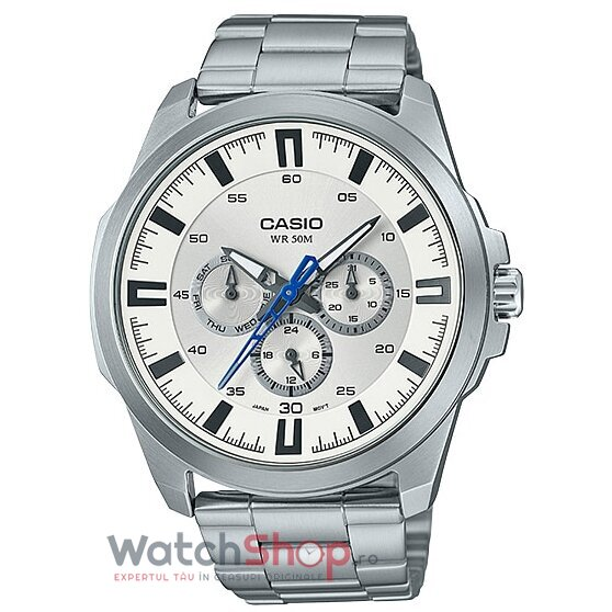 Ceas Casio Dress MTP-SW310D-7AV original barbatesc