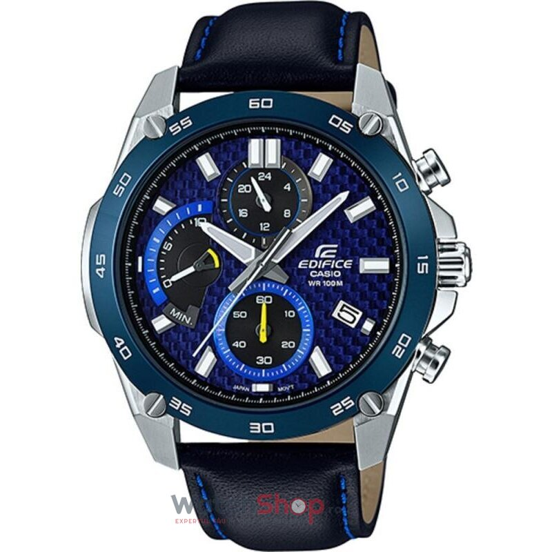 Ceas Casio EDIFICE EFR-557BL-2AVUEF original barbatesc