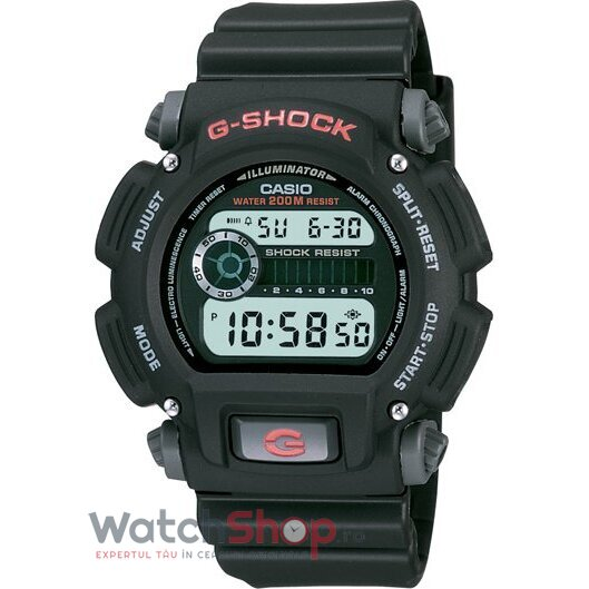 Ceas Casio G-SHOCK DW-9052-1V original barbatesc