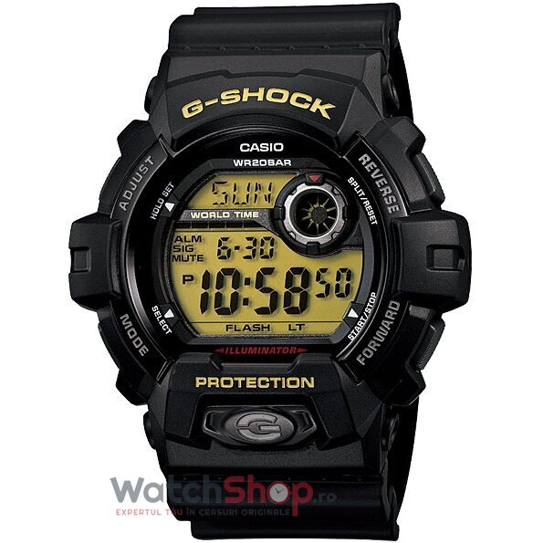 Ceas Casio G-SHOCK G-8900-1ER Super Illuminator original barbatesc