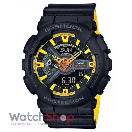 Ceas Casio G-SHOCK GA-110BY-1A Hyper Colours original barbatesc