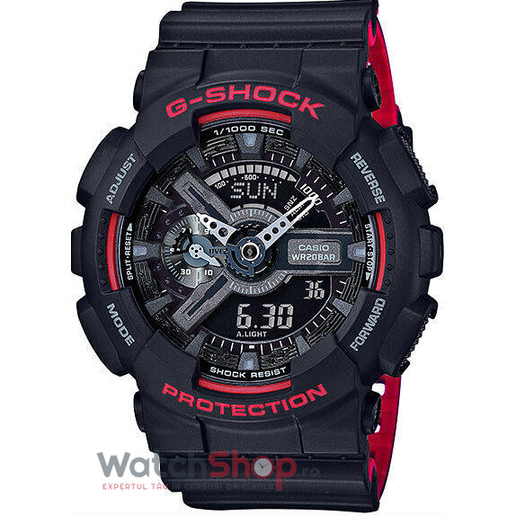 Ceas Casio G-SHOCK GA-110HR-1AER Antimagnetic Hyper Colours original barbatesc