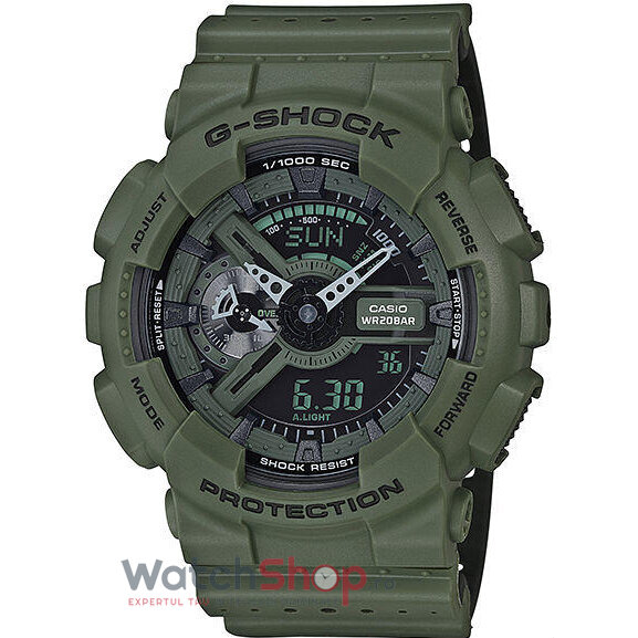 Ceas Casio G-SHOCK GA-110LP-3A Hyper Colours original barbatesc
