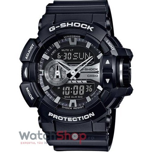 Ceas Casio G-SHOCK GA-400GB-1AER original barbatesc
