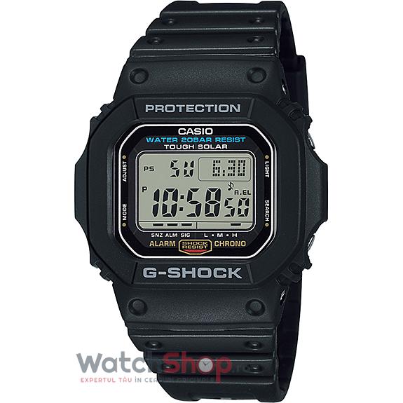 Ceas Casio G-Shock G-5600E-1DR Tough Solar original barbatesc