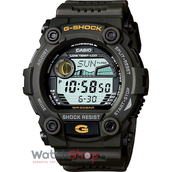 Ceas Casio G-Shock G-7900-3DR original barbatesc